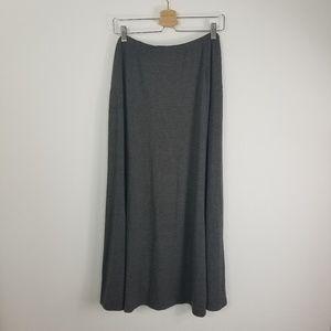 J Jill Maxi Skirt Elastic Waist Stretchy